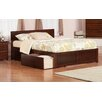 Atlantic Furniture Urban Lifestyle Orlando Panel Bed with Storage