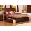 Atlantic Furniture Urban Lifestyle Portland Panel Bed with Storage