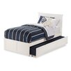 Atlantic Furniture Nantucket Flat Panel Bed with Storage