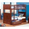 Atlantic Furniture Nantucket Twin Storage Bunk Bed