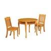 Teamson Kids Windsor 3 Piece Round Table & Chair Set