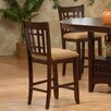 "Primo International 24"" Bar Stool with Cushion (Set of 2)"