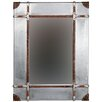 Linon Aluminum Framed Wall Mirror