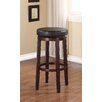 "Linon Maya 29"" Swivel Bar Stool with Cushion"