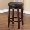 "Linon Maya 24"" Swivel Bar Stool with Cushion"