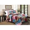 Greenland Home Fashions New Bohemian 3 Piece Bedspread Set