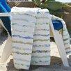 Greenland Home Fashions Jasmine Cotton Ruffle Throw