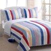 Greenland Home Fashions Prairie Stripe 3 Piece Coverlet Set