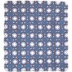 Patch Magic Blue Double Wedding Ring Quilt