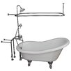 "Barclay 67"" x 29.5"" Soaking Bathtub Kit"