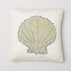 Amity Home Sea Shell Wool Throw Pillow