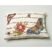 Amity Home Marine Butterfly Wool Throw Pillow