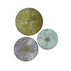 StyleCraft Home Lily Pad Discs Wall Décor