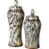 Uttermost 2 Piece Malawi Decorative Urn Set
