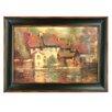 Uttermost Vino Nobile by Longo Framed Original Painting
