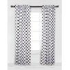 Bacati Large Dots Curtain Panel