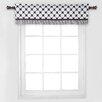 Bacati Dots/Pin Stripes Window Curtain Valance