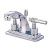 Elements of Design Milano Milano Bathroom Faucet with Double Lever Handles