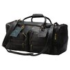 "Claire Chase Executive Sports 17"" Leather Travel Duffel"