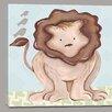 Doodlefish Jungle Liam Lion Canvas Art
