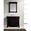 """Virtu Huntshire 40"""" Single Bathroom Vanity Set with Mirror I"""