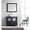 """Virtu Brentford Series 36"""" Single Bathroom Vanity Set with Mirror"""