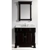 "Virtu Huntshire 36"" Single Bathroom Vanity Set with Mirror"