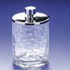 Windisch by Nameeks Accessories Crackled Glass Cotton Swab Jar