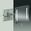 Windisch by Nameeks Wall Mounted 3X Magnifying LED Mirror with Two Arms
