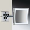 Windisch by Nameeks Wall Mounted 3X Magnifying LED Mirror with One Arm and Switch