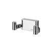 Geesa by Nameeks BloQ Wall Mounted Double Robe Hook