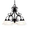 Landmark Lighting Buckingham 5 Light Chandelier