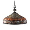 Landmark Lighting Jewelstone 3 Light Pendant