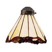 "Landmark Lighting 7.5"" Mix-N-Match Glass Empire Pendant Shade"