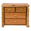 Fireside Lodge Premium Cedar 4 Drawer Dresser