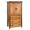 Fireside Lodge Hickory Armoire