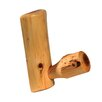 Fireside Lodge Traditional Cedar Log Single Coat Rack Peg