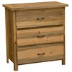 Fireside Lodge Beetle Kill 3 Drawer Chest