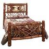 Fireside Lodge Adirondack Twig Slat Panel Bed