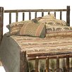 Fireside Lodge Hickory Headboard