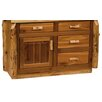 "Fireside Lodge Traditional Cedar Log 48"" Bathroom Vanity Base"