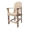 Shine Company Inc. Captiva Counter Height Adirondack Chair