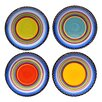 Certified International Tequila Sunrise Dinner Plate (Set of 4)
