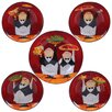 Certified International Waiters Pasta Bowl Set of 5