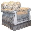 Angel Song Toile Black Adult Empire Glider Rocker
