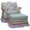 Angel Song English Bouquet Adult Empire Glider Rocker