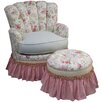 Angel Song English Bouquet Adult Princess Glider Rocker