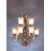Kichler Larissa Indoor 9 Light Chandelette