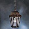 Kichler Townhouse 1 Light Outdoor Hanging Lantern