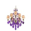 Corbett Lighting Venetian 9 Light Chandelier with Glass